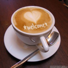 Welcome-coffee-cup