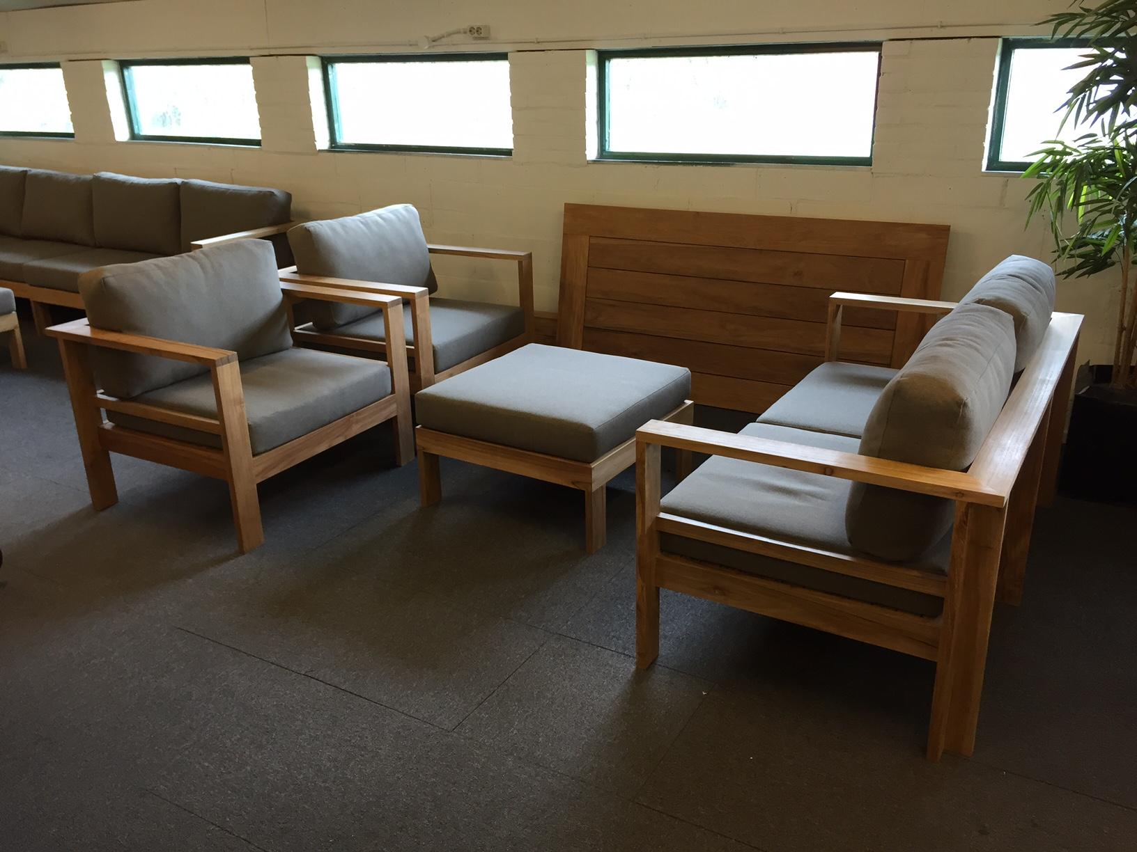ibiza teak lounge set celeste
