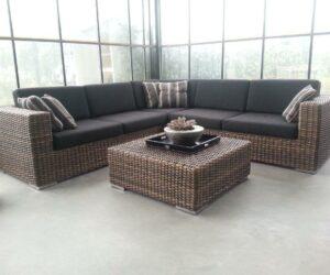Monaco corner lounge set