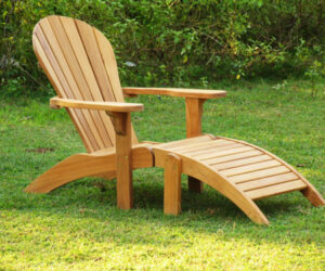 Adirondackteak lounge stoel