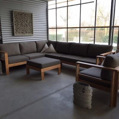 Ibiza Teak Corner Lounge Large