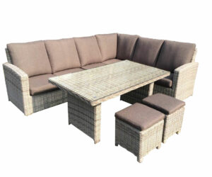 Carlton lounge dining set modulair