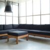 Ibiza teak corner lounge set