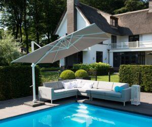 Siesta parasol compleet voet 125kg