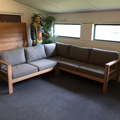Ibiza Teak Corner Lounge - small