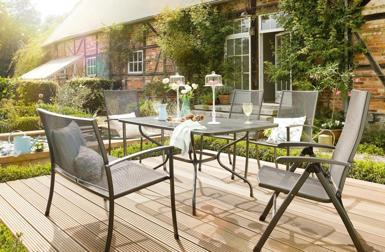 Kettler siero stapelfauteuil celeste - Mobilier jardin waterloo villeurbanne ...