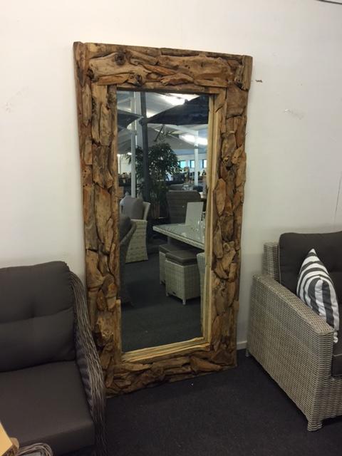 spiegel driftwood 200x100 cm celeste. Black Bedroom Furniture Sets. Home Design Ideas