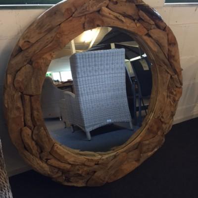 Spiegel driftwood 120cm