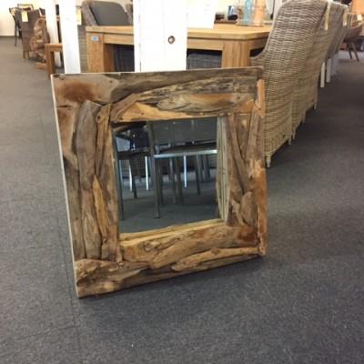 spiegel driftwood 70x70cm