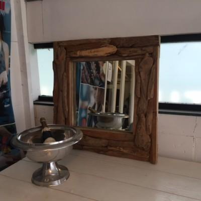spiegel driftwood 80x80cm
