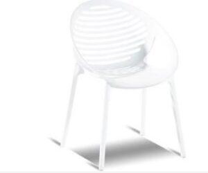 Romeo Stacking Chair White
