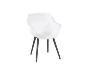 Sophie studio armchair white black