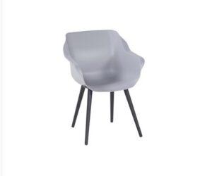 sophie studio armchair misty grey black