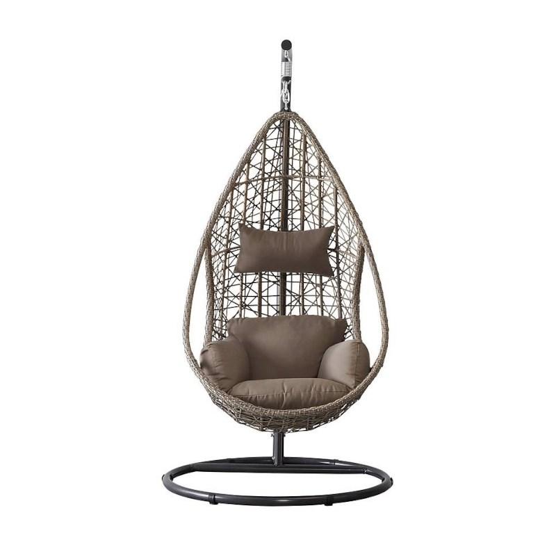 Hangstoel Met Standaard.Cocoon Hangstoel Single Celeste